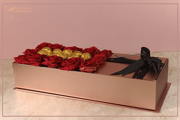 Metallic Accent Bouquet | Grasshopper