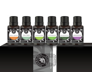 Naturalique Beauty's Top 6 Essential Oil Set