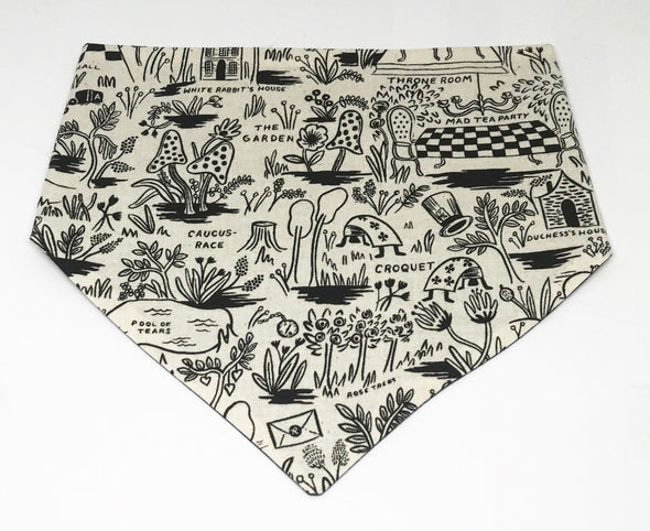 Alice In Wonderland | Dog Bandana