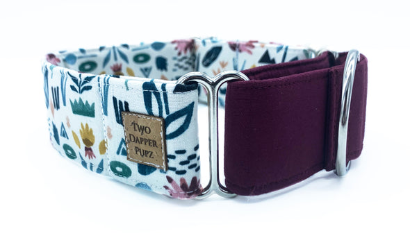Abstract Garden | Martingale Dog Collar