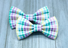 Load image into Gallery viewer, Easter Plaid | Dog Bow Tie