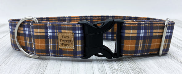 Rustic Plaid | Dog Collar