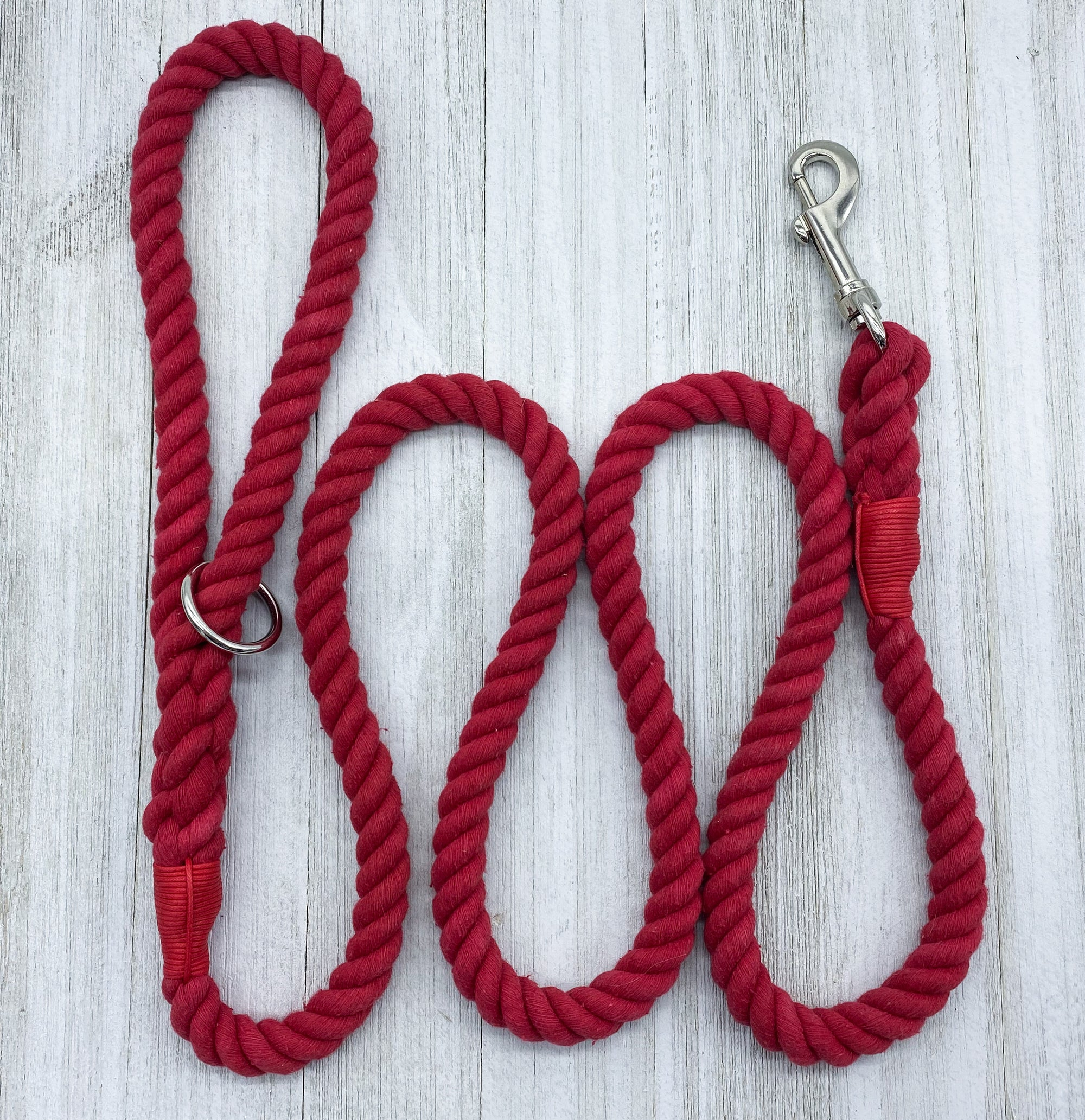 Barn Red | Dog Rope Leash