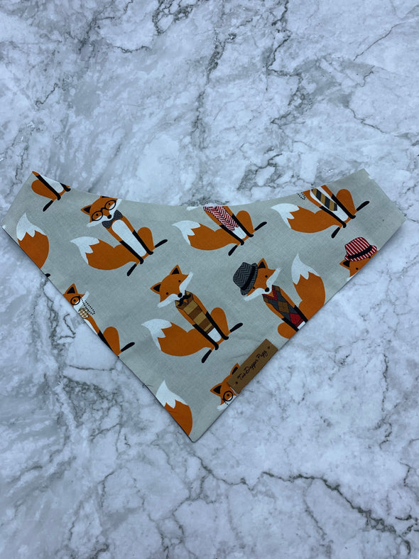 Dapper Fox | Dog Bandana