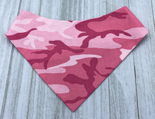 Load image into Gallery viewer, Pink Camo | Dog Bandana