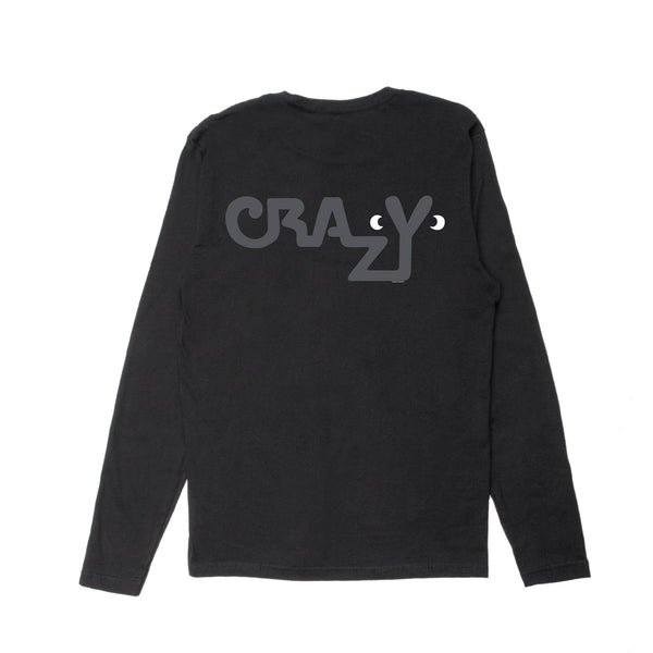 CRAZY EYES LONG SLEEVE T-SHIRT