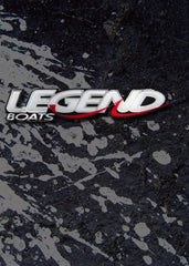 "Legend Boats 10"" Domed Decal"