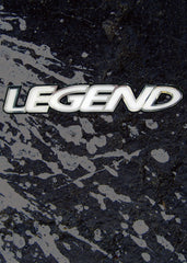 "Legend 19"" Domed Decal"