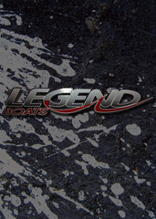 "Legend Boats 14"" Reflective Decal"