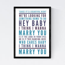 Load image into Gallery viewer, Marry You (Bruno Mars)