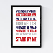 Load image into Gallery viewer, Stand By Me (Ben E King)