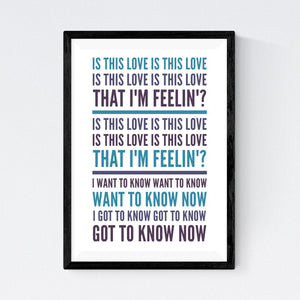 Is This Love (Bob Marley)