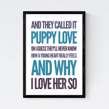 Load image into Gallery viewer, Puppy Love (Donny Osmond)