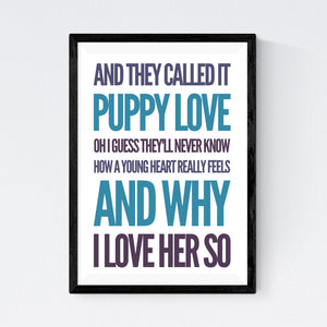 Puppy Love (Donny Osmond)
