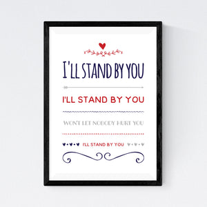 I'll Stand By You (The Pretenders)