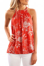 Load image into Gallery viewer, Bigredbagshop.com: Sleeveless Flower Printed Tank Top