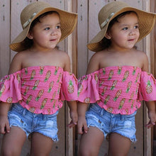 Load image into Gallery viewer, Girls Two Piece set;https://www.bigredbags.com/collections/children
