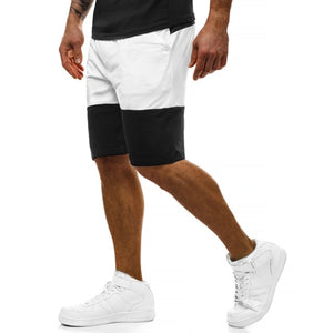 Casual Men's  Patchwork Shorts.