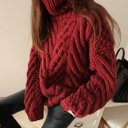 Woman Turtleneck Long Sleeve Sweaters: https://www.bigredbags.com