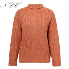 Load image into Gallery viewer, Women Turtleneck Winter Sweater
