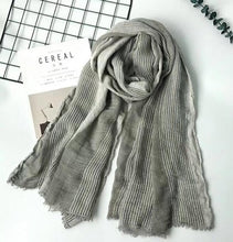 Load image into Gallery viewer, Winter Cotton Scarf for Men:bigredbags.com