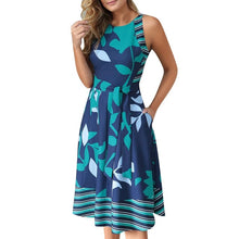 Load image into Gallery viewer, Women Sleeveless Casual Dress