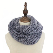 Load image into Gallery viewer, Ring Warm  Cashmere Winter Ladies Scarf