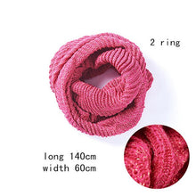 Load image into Gallery viewer, Ring Warm Winter Ladies Scarf