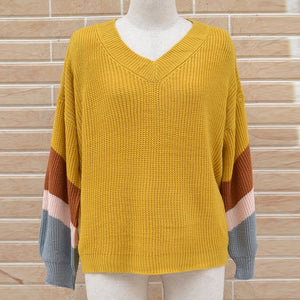 Woman Loose Lantern Sleeve Sweater