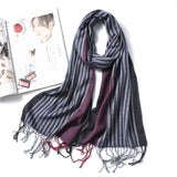 2019 NEW women scarf fashion plaid cashmere scarves for lady winter shawls with tassel long size wraps pashmina bandana foulard