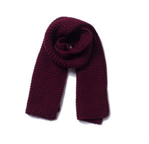 https://www.bigredbags.com:  Winter Thick Wool handmade Solid Color Scarf