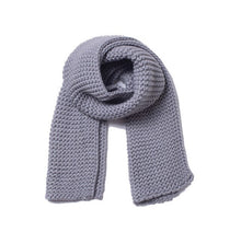 Load image into Gallery viewer, https://www.bigredbags.com:  Winter Thick Wool handmade Solid Color Scarf