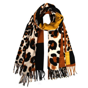 New Women Shawl Wrap With Tassel Animal Leopard Print:https://www.bigredbags.com