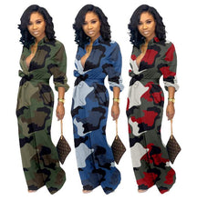 Load image into Gallery viewer, Camouflage Casual Fashion  Sexy Women Romper: Bigredbags.com