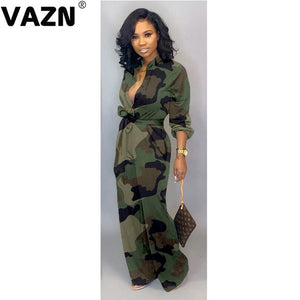 Camouflage Casual Fashion  Sexy Women Romper