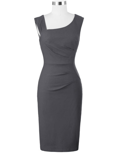 Women Elegant  Sleeveless Pencil Dress