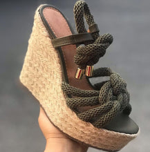 Load image into Gallery viewer, Summer Wedge Women Sandals Platform with Lace