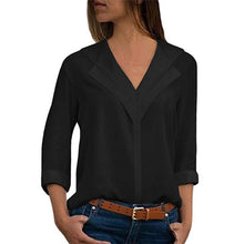Load image into Gallery viewer, Ladies Long Sleeve Blouse