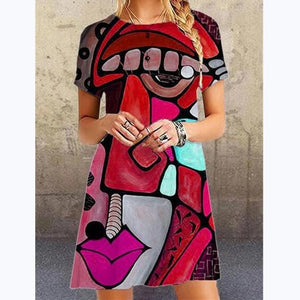 Long Bohemian Casual  Women Dress