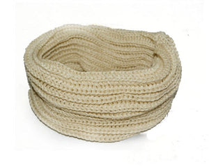 Women  Winter Warm Infinity Circle Cable Knit Scarf:bigredbags.com