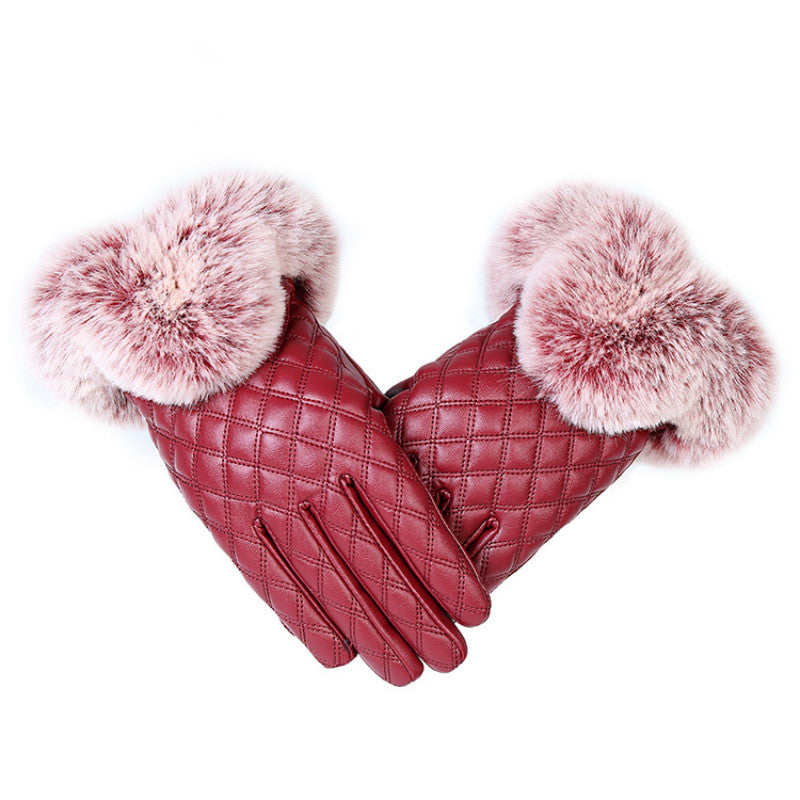 Women Warm Thick Winter Gloves: bigredbags.com