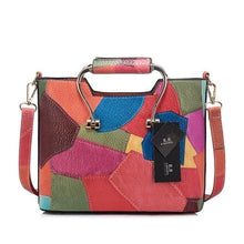 Load image into Gallery viewer, Bigredbagshop.com: Patchwork Shoulder Bags Women