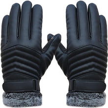 Load image into Gallery viewer,  High Quality Genuine Leather Winter Gloves for Men;Bigredbags.com