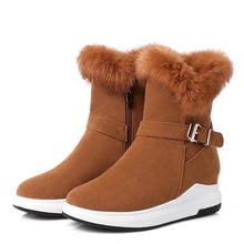 Load image into Gallery viewer, Ankle Flat Heel Winter  Boots for womenBigredbags.com