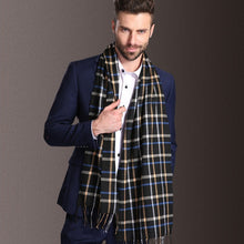 Load image into Gallery viewer, Men's Winter Tartan Plaid Scarf