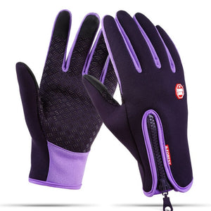 https://www.bigredbags.com: Waterproof Winter Warm Men Ski Gloves