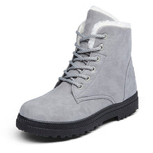 Load image into Gallery viewer, Woman Ankle  low Heel  Winter Boots:bigredbags.com
