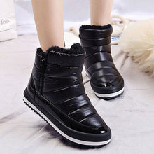 Load image into Gallery viewer, Women Snow winter Flat Waterproof Boots