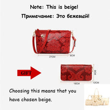 Load image into Gallery viewer, Bigredbagshop.com: Leather Handbags High Quality Women Shoulder Bags