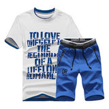 Man Casual  Comfortable Short Sleeve T shirt  and Pant